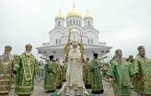 Его Святейшество посетил Свято-Троицкий Серафимо-Дивеевский монастырь