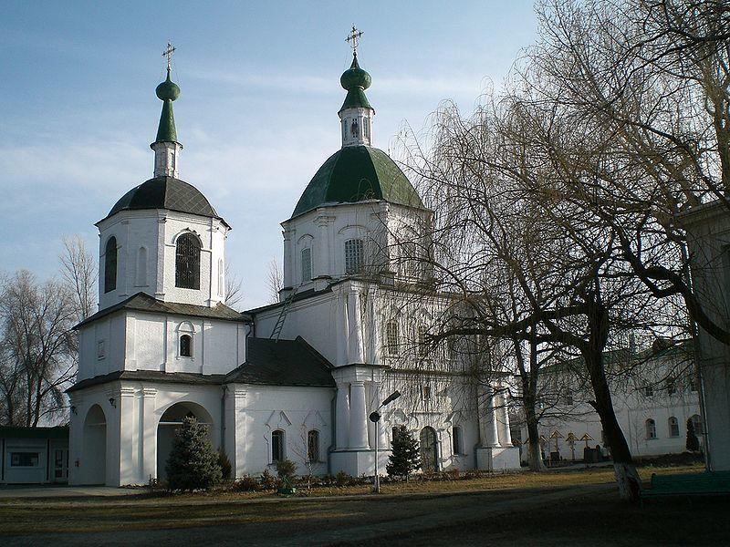 Святейший Патриарх Кирилл совершил утреню  в Воскресенском войсковом соборе станицы Старочеркасская