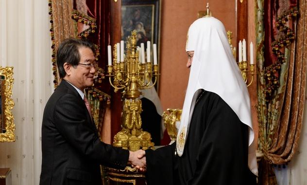 Встреча с  Чрезвычайным и Полномочным послом Японии