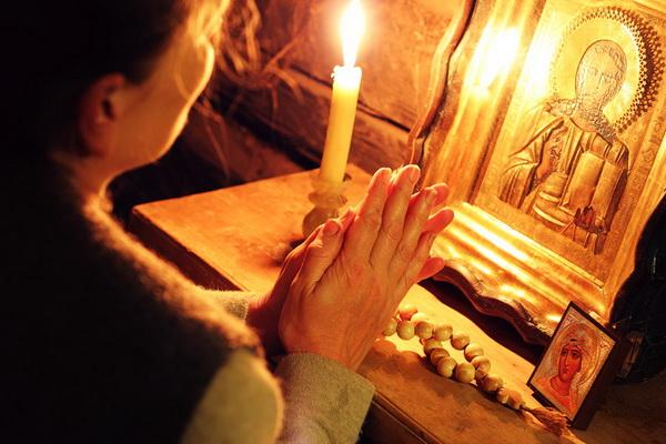 Молитва перед иконой Молитва матери