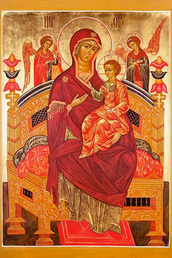 Икона Матери Божьей Всецарица