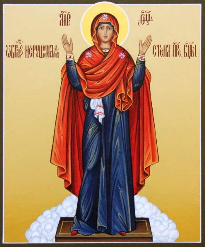 Икона Матери Божьей Нерушимая стена