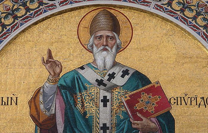 Спиридон Тримифунтский сотворил множество чудес